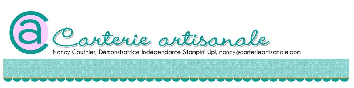 Carterie artisanale et scrapbooking Stampin'Up!
