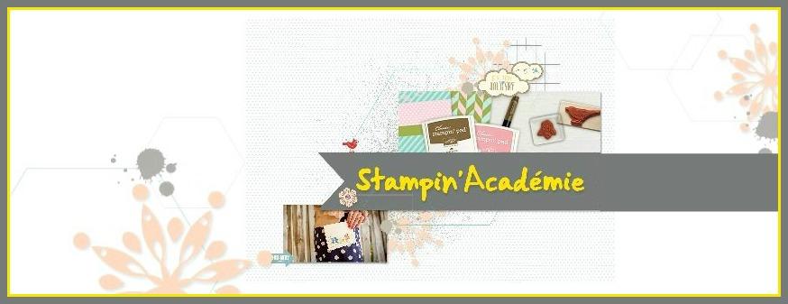 Stampin' Academie bannière cadree