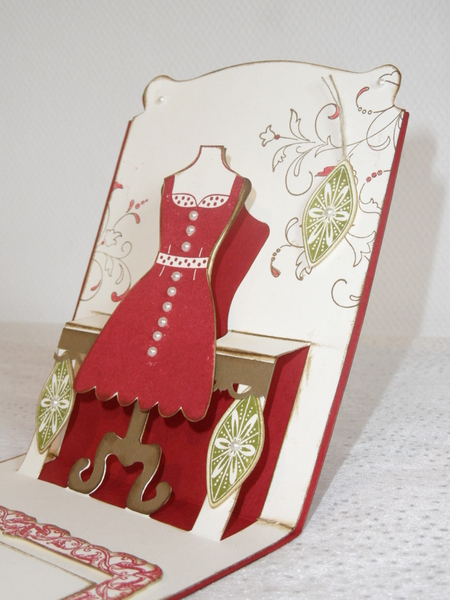 Carte Pop Up Mannequin 2