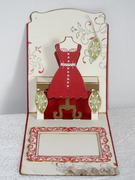 Carte Pop Up Mannequin