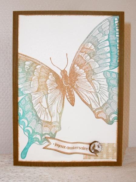 Carte anniversaire - Swallowtail 3