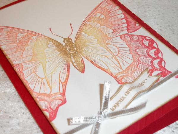 Carte anniversaire - Swallowtail