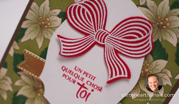 Porte certificat cadeau pop-up