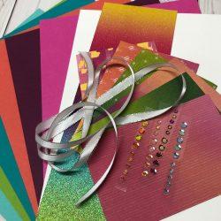 Kit de papiers à motifs Art Flamboyant